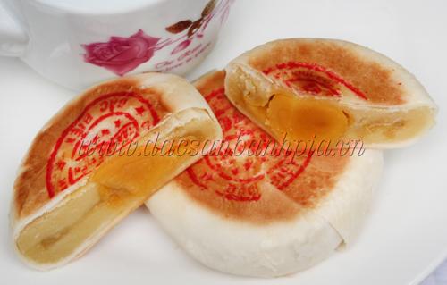 Bánh pía đậu sầu riêng 2 sao