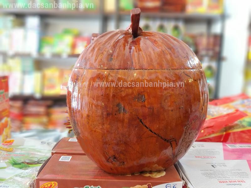 Vỏ bình giữ ấm trà hình trái dừa đẹp mắt